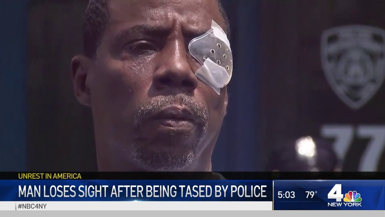 NYPD Tases Man in Diabetic Shock, Another Man Loses Sight After Being Tased