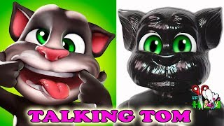 ГОВОРЯЩИЙ ТОМ / КУКЛА - КОТ / ООАК / часть1 / КРАСИМ КУКЛУ/ Talking TOM /Muza Rukodeliya 🌺