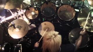 LEON Drum Cam -  SEX MACHINEGUNS - SEX冠TOUR 2013(11.29) 1/2