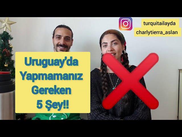 Uruguay'da YAPMAMANIZ gereken 5 şey / yok artık! Muslera, Suárez, Cavani...
