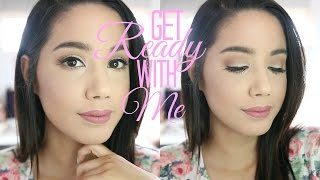 GET READY WITH ME | MY EVERYDAY MAKEUP ROUTINE | 2016