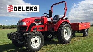 DELEKS TR-140 G2 Trattore agricolo con rimorchio RM-14 T3