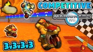 COMPETITIVE Mario Kart Wii 3v3v3v3 Full Tournament