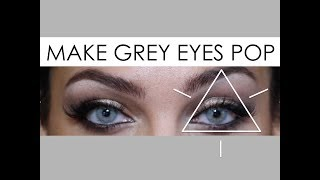 How to Make Grey Eyes/Contacts Pop feat. Cocktail - Martini Grey//ROSE