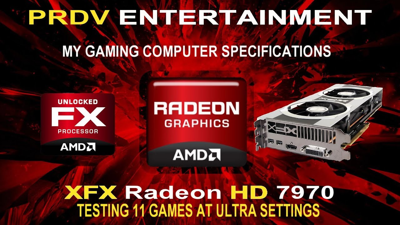 Xfx Radeon Hd 7970 Testing 11 Games At Ultra Settings Youtube