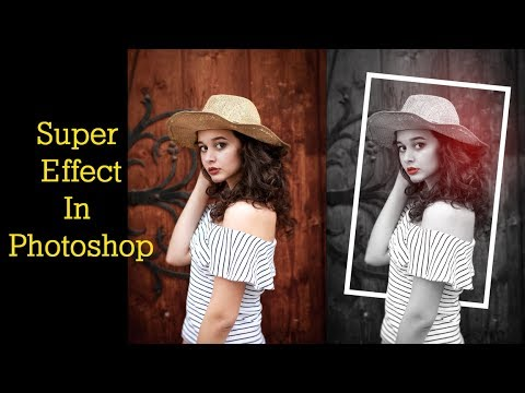 Photoshop hindi tutorial best effect learn | Multitalent Video thumbnail