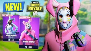 fortnite new update rabbit raider bunny brawler best stream moments - fortnite bunny brawler fan art