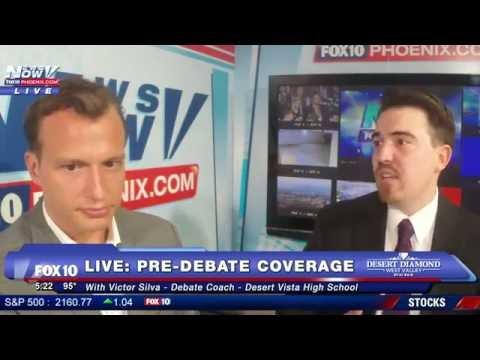 FNN: 2nd Presidential Debate - Pre Debate Coverage With Victor Silva - Debate Coach
