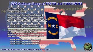 North Carolina State Song THE OLD NORTH STATE with vocal and lyrics