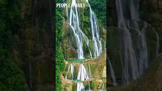 Make sure you visit the Dishuitan Waterfall in Guanling Buyi and Miao Autonomous County