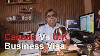 Canada Business Visa Vs UK Business Visa