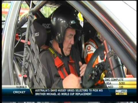 Craig Lowndes - Jeremy Clarkson lap Foxsports 1on1