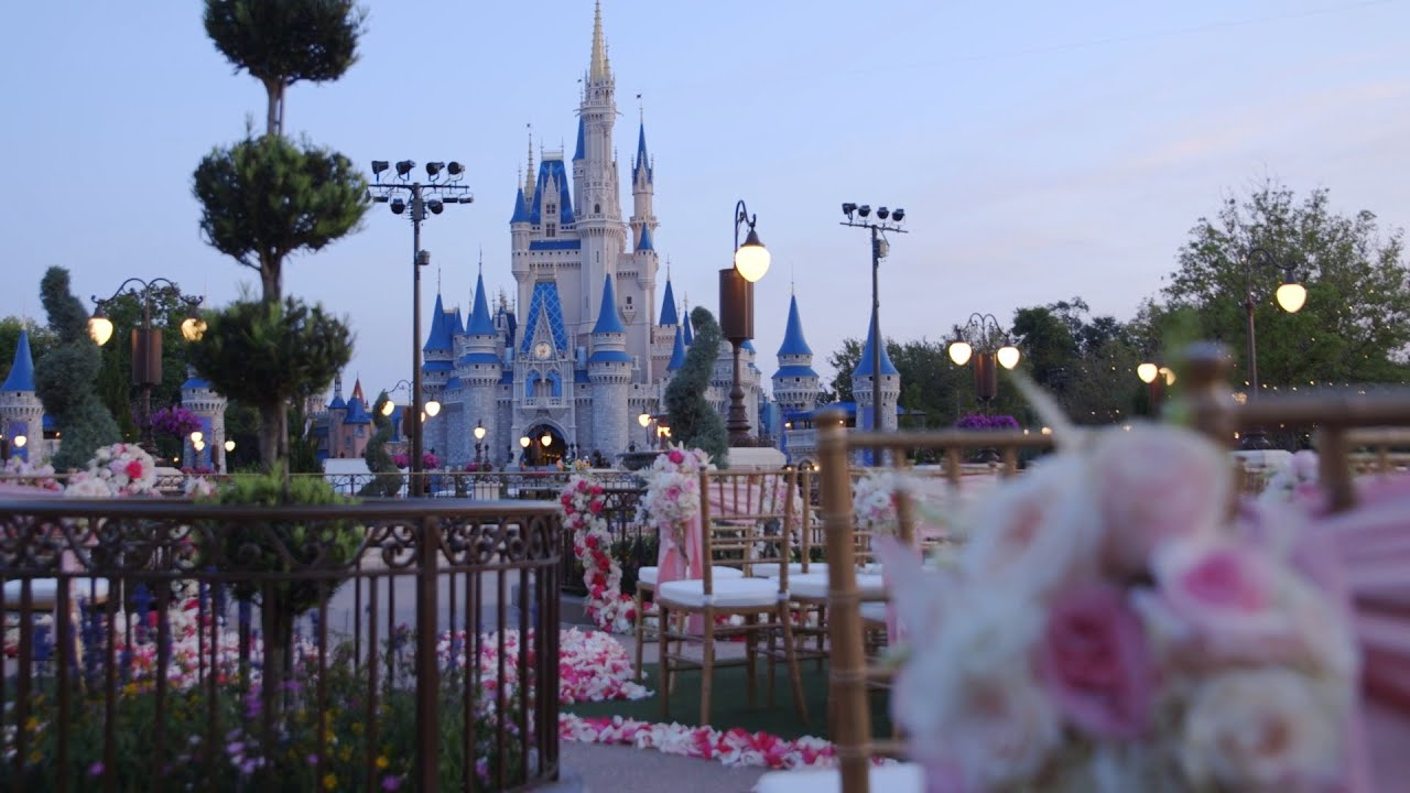 Get married in the Magic Kingdom with