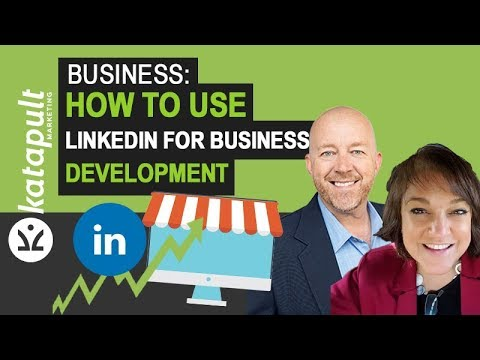 How to use Linkedin for Business Development [WEBCAST] with Kimball Stadler