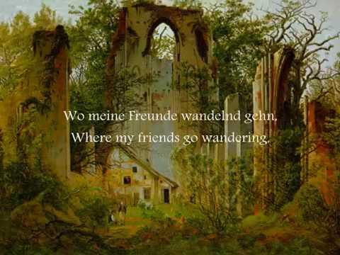1816 - Der Wanderer (O caminhante) - Schubert
