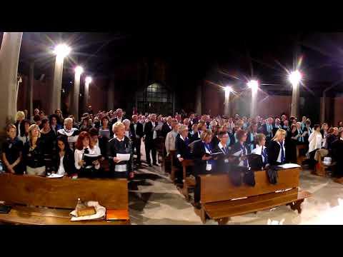 RASSEGNA CORI 2017 - NICHELINO - Canto finale di tutti i cori: JESU REX ADMIRABILIS