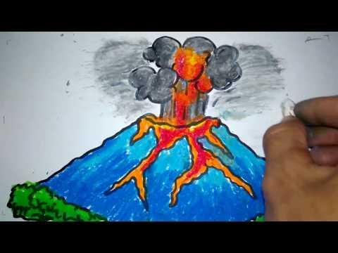 20+ Ide Gunung Meletus Cara Membuat Poster Tentang Bencana ...
