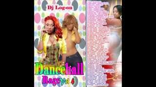 DJ LOG0N DANCEHALL  MIX 2013 ( DANCEHALLRAGE VOL 4 CLEAN MIX)