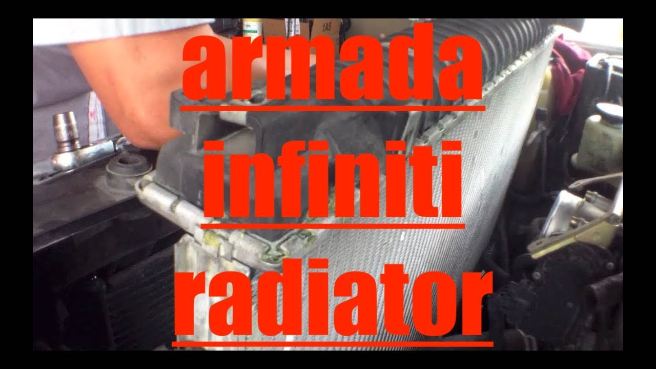 Simple Follow Replace Leaking Radiator Amp Thermostat Nissan