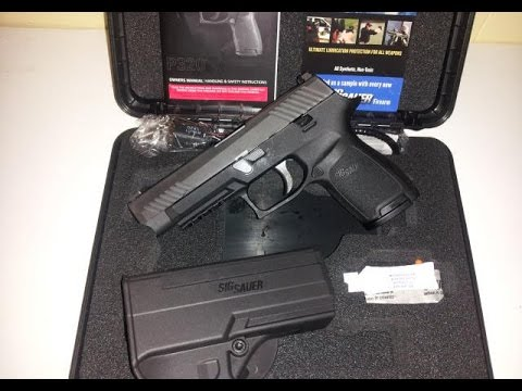 Testing the Sig Sauer P320C FLS-Is this the Civilian M17?-Unboxing and First Impressions