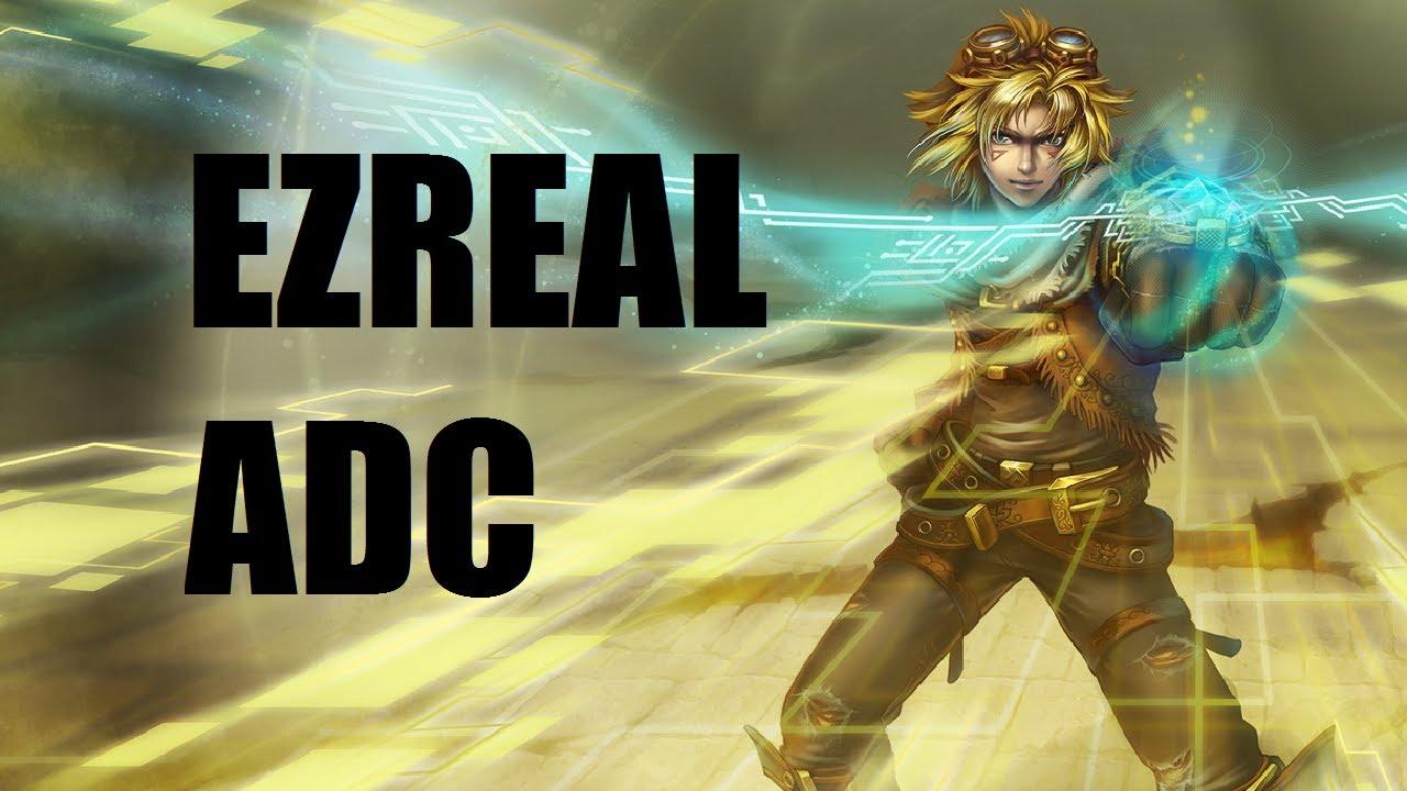 League Of Legends Patch   Ezreal Build