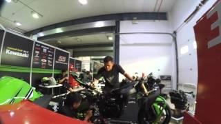 Video Manual Tech KYT Rextor Kawasaki Racing Team : Journey to ARRC RD 5 Qatar download MP3, 3GP, MP4, WEBM, AVI, FLV Oktober 2018