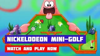 Nickelodeon's ULTIMATE Mini-Golf Universe [SpongeBob SquarePants] · Game · Gameplay