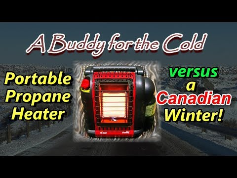 Buddy vs Canadian Winter - Portable Heater Review