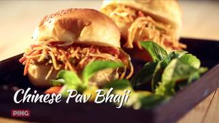 Chinese Pav Bhaji Recipe ( चाइनीज पाव भाजी)   Indo-Chinese Recipe   Archana Arte
