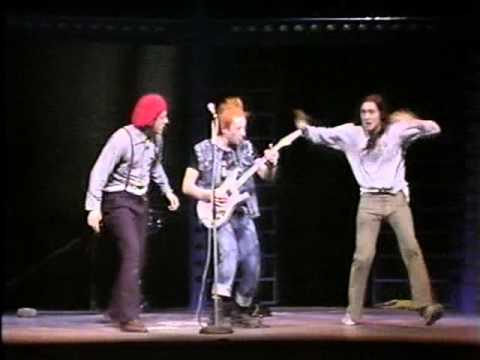 THE YOUNG ONES: Living Doll with Cliff Richard  Aid 86