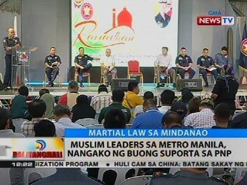 Muslim leaders sa Metro Manila, nangako ng buong suporta sa PNP