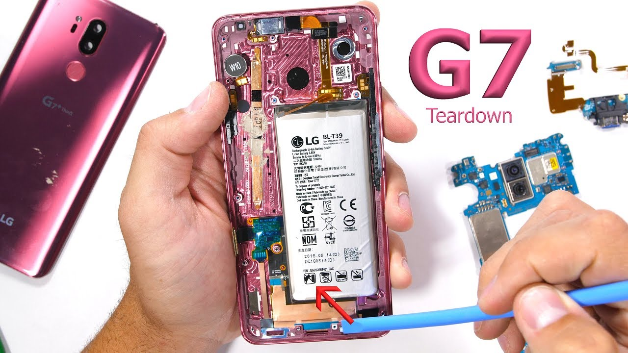LG G7 Teardown! - I ThinQ its beautiful