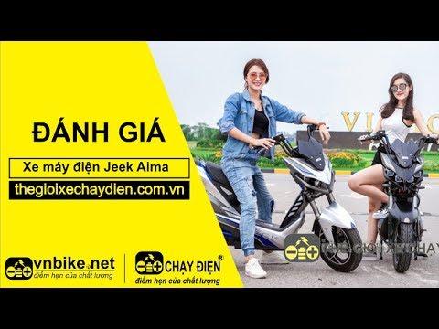 Đánh giá xe máy điện Jeek Aima