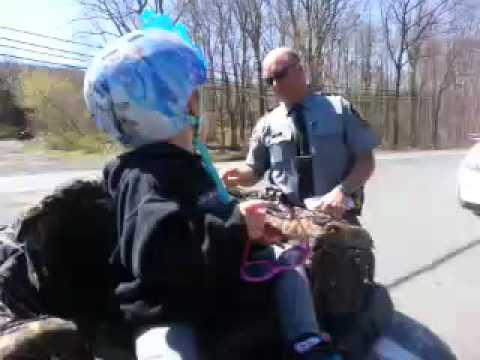 Atv rider VS Pa state police
