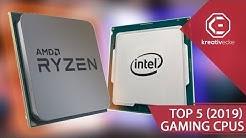 Die TOP 5 BESTEN GAMING PROZESSOREN 2019! 5 CPUs, die ich euch empfehle!