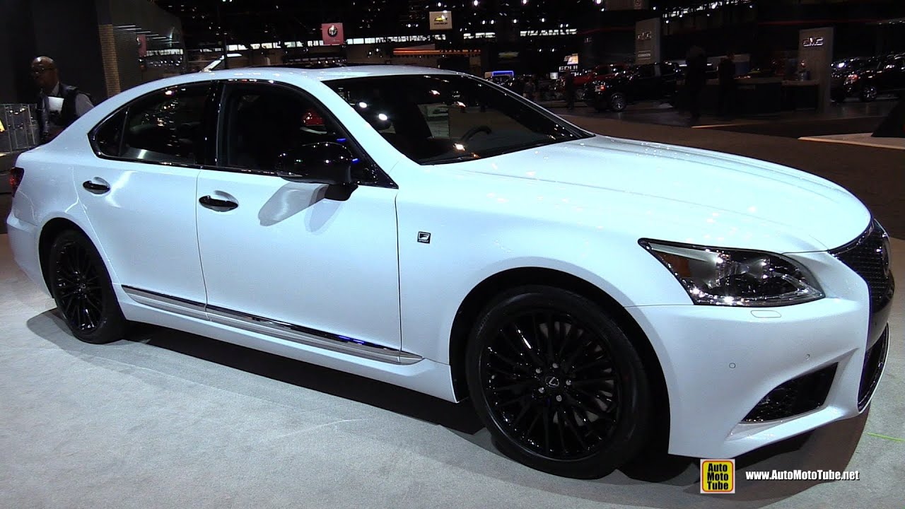 2015 Lexus LS460 F Sport AWD   Exterior And Interior Walkaround   2015  Chicago Auto Show