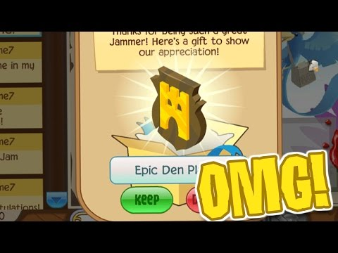 THE EPIC DEN PLAQUE | Animal Jam