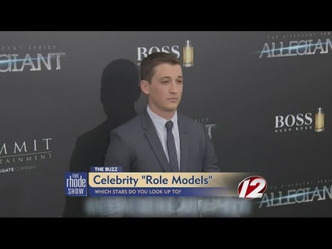 The Buzz: Are Celebrities Role Models?
