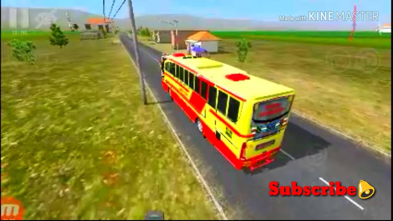 KERALA KSRTC DRIVING IN BUS SIMULATOR INDONESIA 😎😎