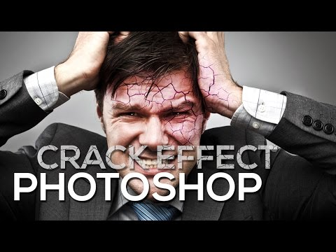 Crack Effect Photoshop Easy Tutorial For Beginners
