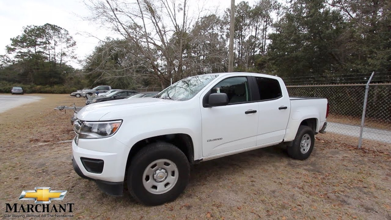 How about a 2017 Chevy Colorado Work Truck? Review at Marchant Chevy ...