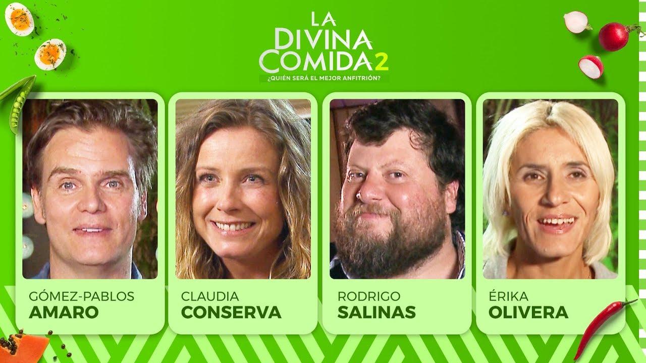 La Divina Comida - Claudia Conserva, Amaro Gómez Pablos, Rodrigo Salinas y Érika Olivera