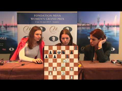 Press Conference Round 7: Anna Muzychuk (SLO) - Tatiana Kosi
