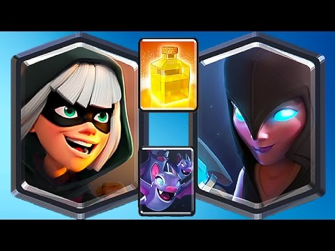 4 NEW CARD GETS / HISTORY GAMES Clash Royale