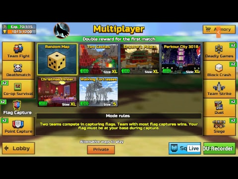 pixel gun 3d live stream come on and join