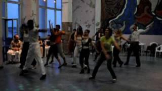Урок танцев. Кубинская пластика и ритмика с Ватсоном
