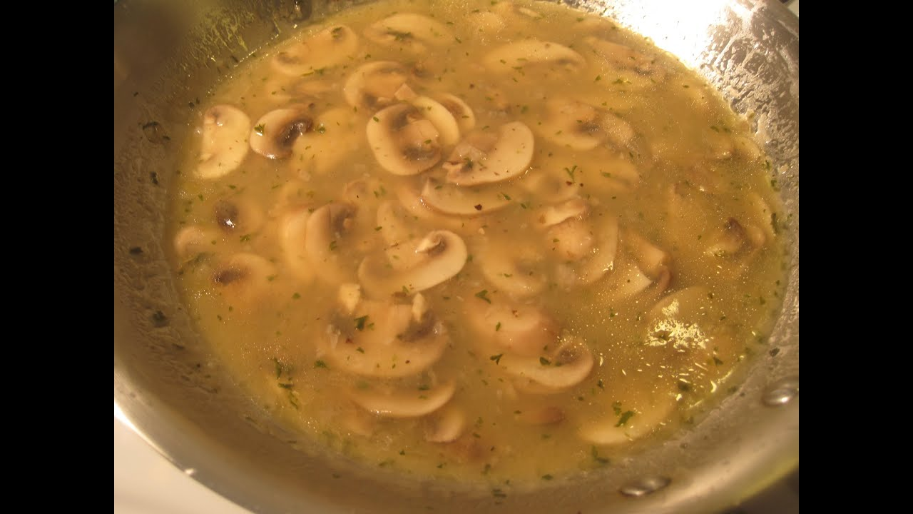 Basic Mushroom Sauce How To Make Mushroom Sauce Recipe