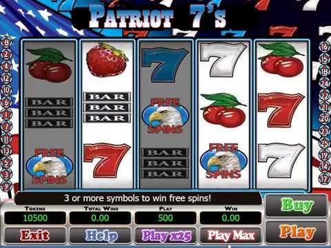 Patriot 7s Slot Game