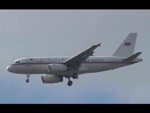 Armenian Air Force Airbus A319 Landing At Amsterdam Airport Schiphol (DutchPlaneSpotter)