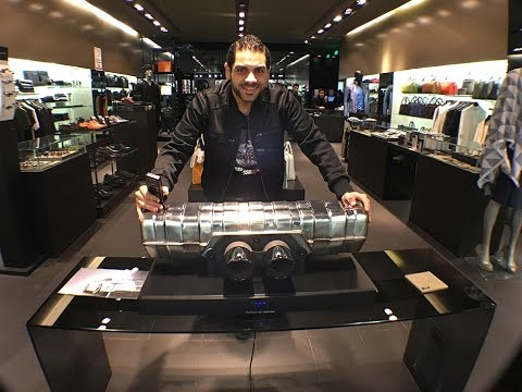 f0d6bd32a26 Soundbar from PorscheDesign 3350  Awesome luxury subwoofer - YouTube